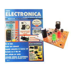 (Nº5) Kit para montar todoelectronica, cargador universal baterias + regalo revi