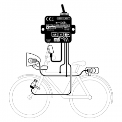 Controlador de carga USB para Bicicletas