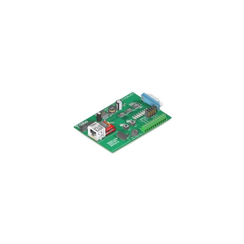 TIBBO STARTER KIT EM1206 Kit de la evaluación para el módulo EM1206. La placa ti