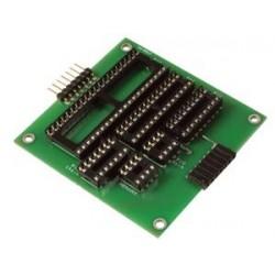Expansión RODAPIE tarjeta para el programador PIC FT650 - MONTADO