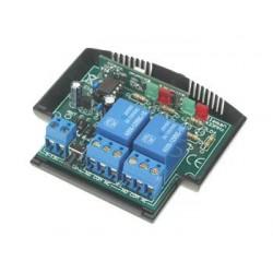 Receptor de 1 canal con dos salidas - montado