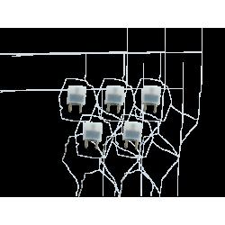 5 bobinas 12 uH