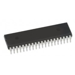PIC17C42A/JW  MCU CMOS 8 BITS, 17C42, DIP40  RAM Memory Size:232Byte; N.º of