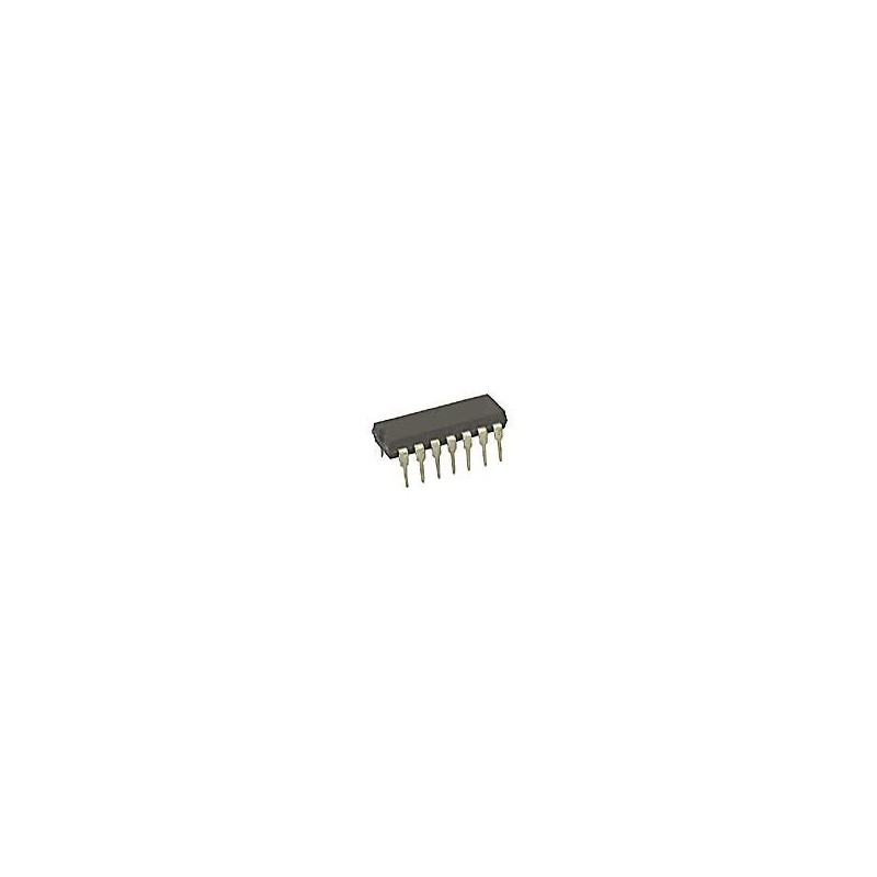 Op Amp Type:High Gain; No. of Amplifiers:4; Bandwidth:2.5MHz; No. of Pins:14; Op