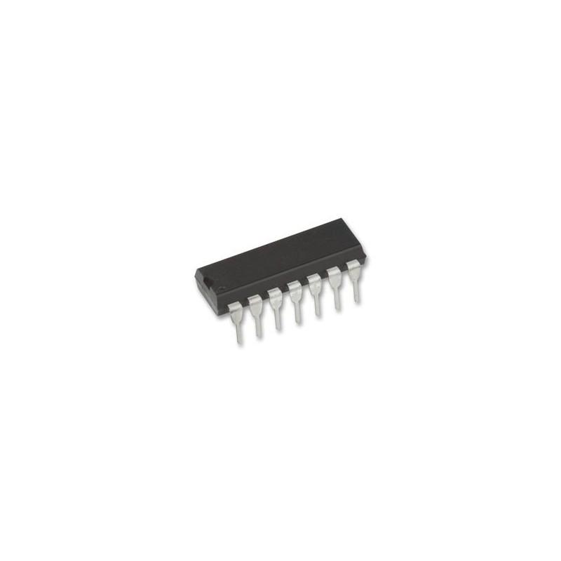 # Logic IC Case Style:DIP # N.º of Pins:14 # Operating Temperature Range:-40&#