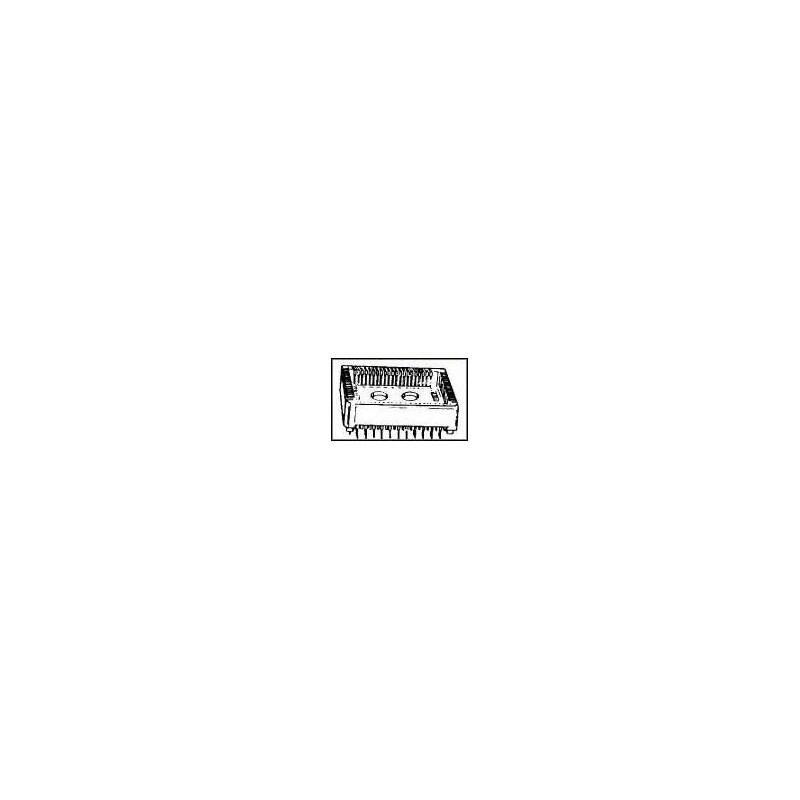 ZÓCALO, PLCC, 84VÍAS  Serie:6601; SVHC:No SVHC; Tipo de caja:PLCC; Tipo de con