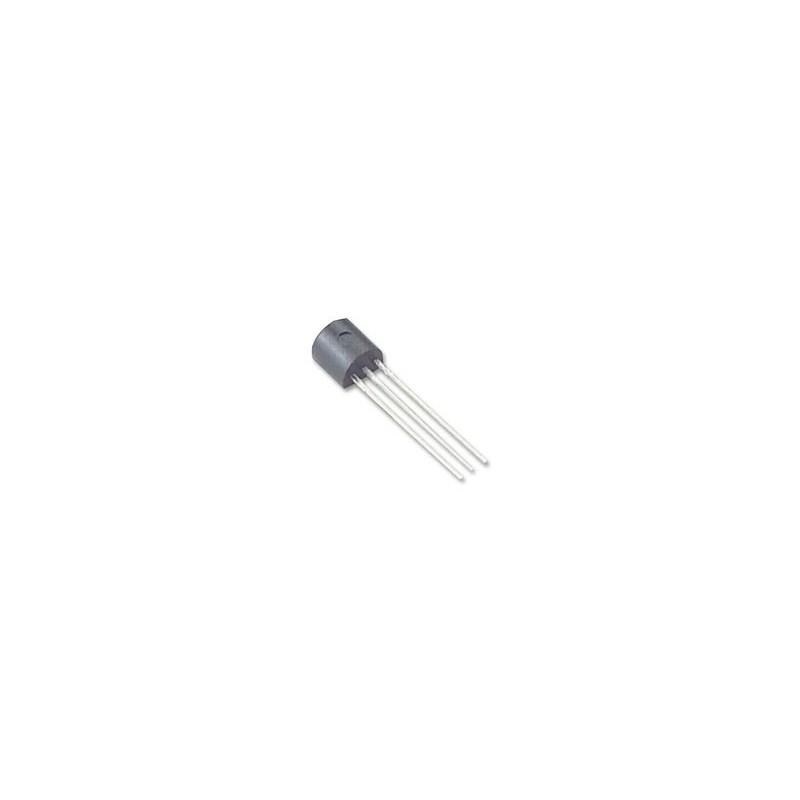 TRANSISTOR, NPN, TO-92   Transistor Polarity:NPN; Collector-to-Emitter Breakdo