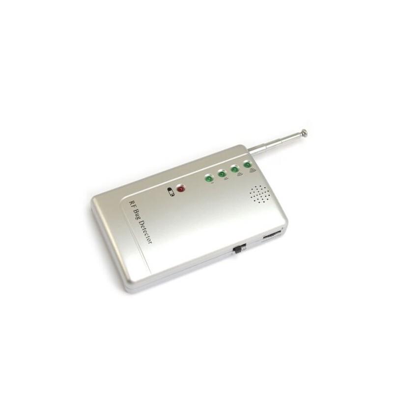 Detector de micrófono espía, cámara oculta y localizador GPS. Señales WiFi, GSM, GPS y Radiofrecuencia