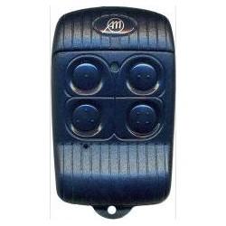 Mando de garaje original de 4 botones ALLMATIC BRO4WN de 433.92 MHz