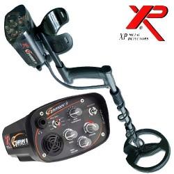 """Detector de metales XP GMAXX II -4.6KHZ (campo y playa arena seca) plato de 9"""" 22.5cm"""