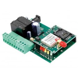 Control remoto GSM a distancia bidireccional móvil  2 entradas 2 salidas