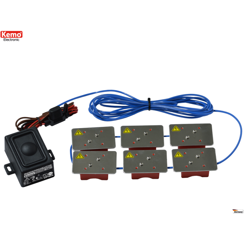 defensa de los vehículos de motor de 12 V / DC, a prueba de salpicaduras con IP
