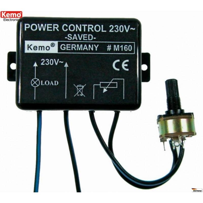 Control de energía para transformadores eléctricos 110 - 240 V/AC, 50 - 60 Hz
