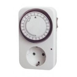 PROGRAMADOR MECÁNICO DIARIOCon lengüetas extraibles. Incluye interruptor ON/