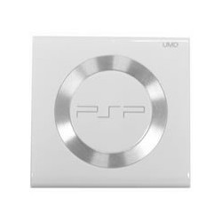 Puerta / Tapa lector UMD PSP Slim, PSP 2000 color blanco