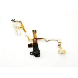 Cable flex conector auriculares + Volumen + Apagado + Hold iPhone 3GS
