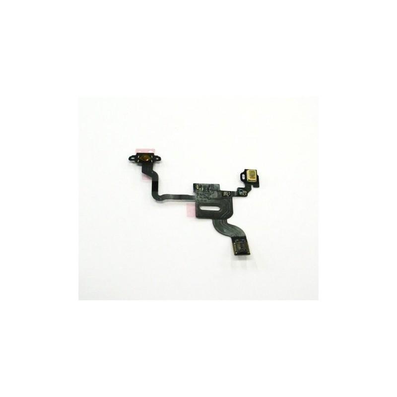 Cable de la flexión microfono del sensor para el iPhone 4G