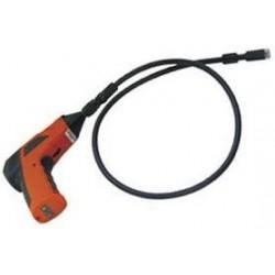 """Cámara de inspección endoscópica con monitor LCD de 2.5"""" y cable 1.15M"""