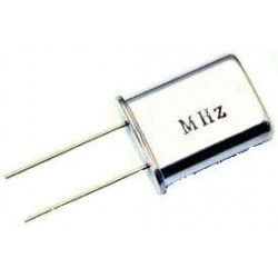 5 Cristales de cuarzo perfil alto 27 Mhz