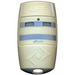 Mando de garaje original de 2 botones y frecuencia 433 MHz LIFE BRAVO2