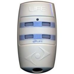 Mando de garaje original de 4 botones y frecuencia 433 MHz LIFE BRAVO4