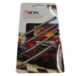 Set de 4 punteros metalicos para Nintendo 3DS