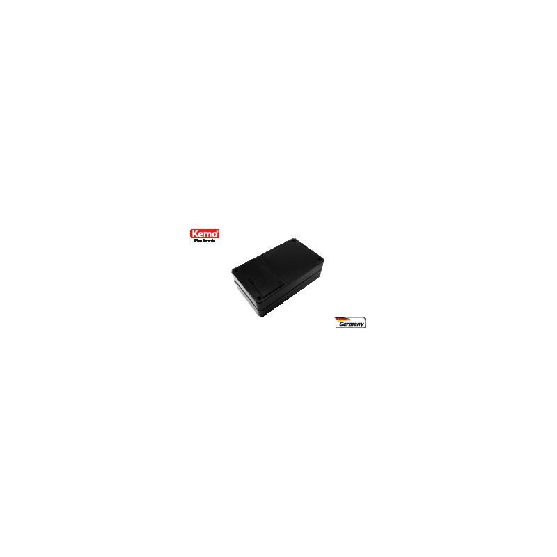 Caja de plástico, pequeña con compartimento 9 V