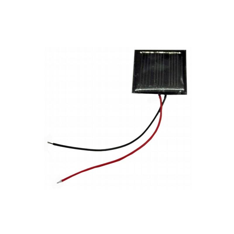 Pack de 4 células solares 1,5 V 75 mA 40x40 mm