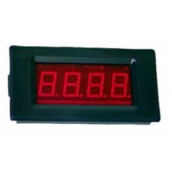 Voltímetro con display Lcd/led