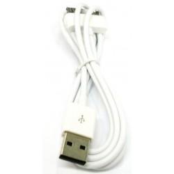 CABLE USB 2.0 PARA iPOD, iPHONE & iPAD