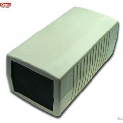 Caja de montaje electrónico con paneles frontales 120x60x50 mm