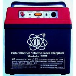 Electrificador de vallas recargable Modelo  HCM (Todo tipo de animales)