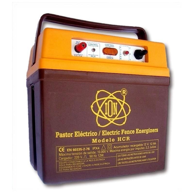 Electrificador de vallas recargables a 230 ó 110 V Modelo  HCR