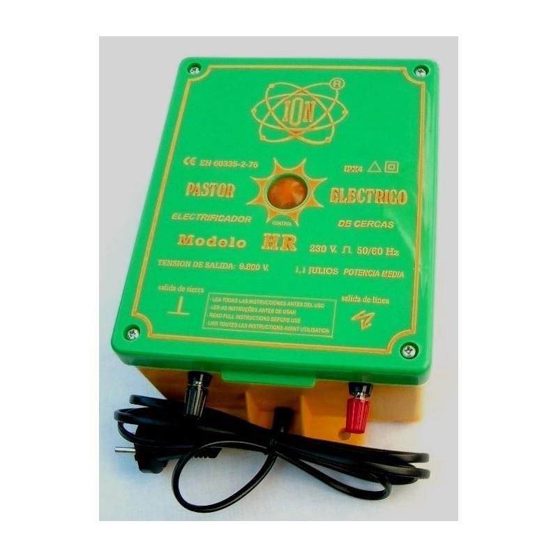 Electrificador de vallas Modelo  HR conectado a red 230 ó 110