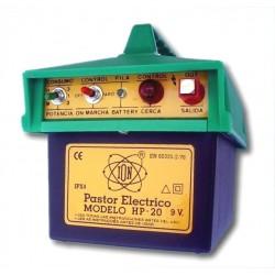 Electrificador de vallas alimentado por pilas modelo HP-20