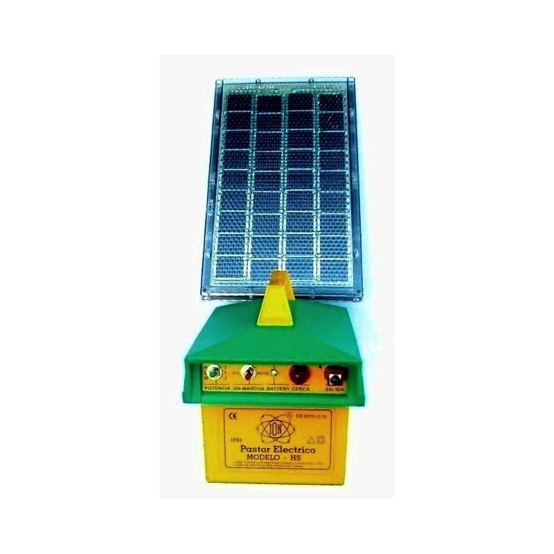 Electrificador alimentados con energía solar Modelo HS