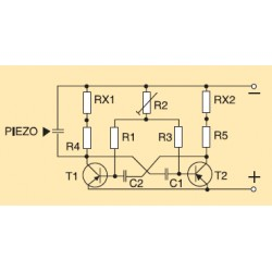 Kit electronico para montar, generador ultrasonico espanta mosquitos + revista N
