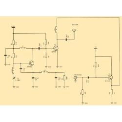 Kit electronico para montar, emisor de TV + revista todoelectronica Nº13