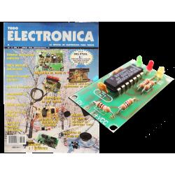 Kit electrónico para montar: circuito multisensible comprobador continuidad + Revista Todoelectronic