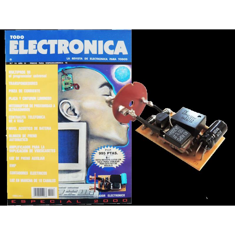 Kit electronico para montar, cebador electronico + revista todoelectronica Nº18