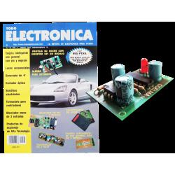 Kit electrónico para montar: alarma para automóvil + Revista Todoelectronica Nº20