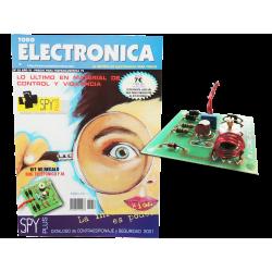 Kit electrónico para montar: generador transmisor telefónico + Revista Todoelectronica Nº22
