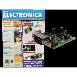 Kit electrónico para montar: programador de pic + Revista Todoelectronica Nº23