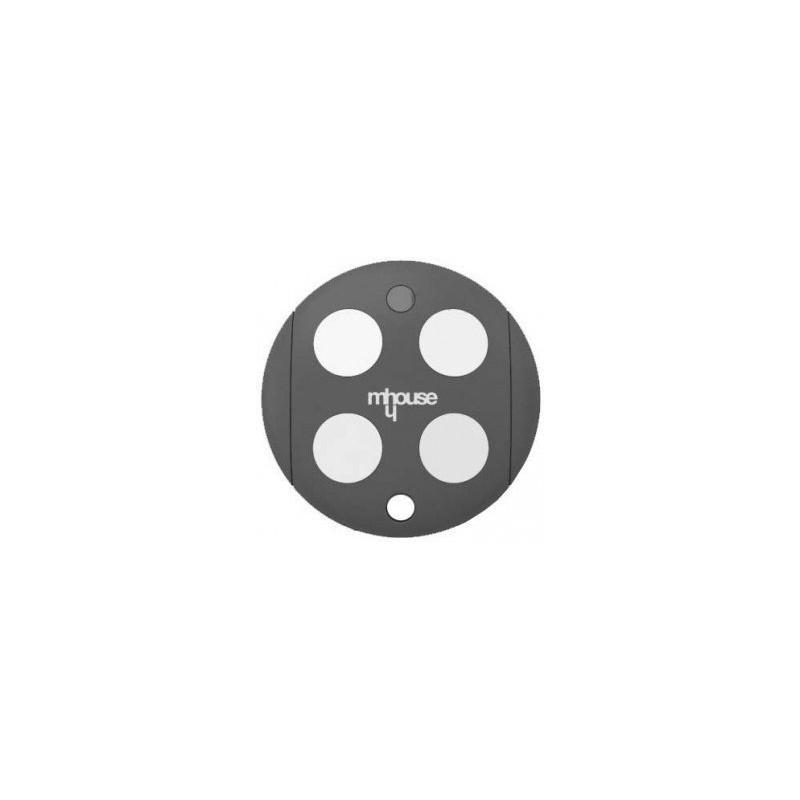 Mando de garaje original de 4 botones y frecuencia 433 MHz MHOUSE GTX4