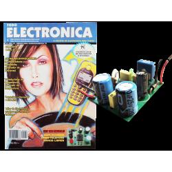 Kit electrónico para montar: amplificador para teléfono manos libres + Revista Todoelectronica Nº26