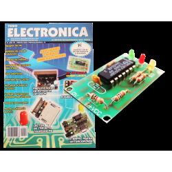 Kit electrónico para montar: multitester sonda lógica + Revista Todoelectronica Nº27