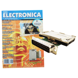 Kit electrónico para montar: Grabador Funcard DB25 + Revista Todoelectronica Nº29