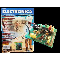 Kit electronico para montar, detector metales + revista todoelectronica Nº35