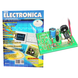 Kit electrónico para montar: generador de funciones + Revista Todoelectronica Nº36