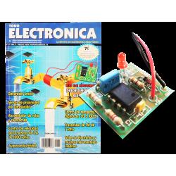 Kit electrónico para montar: descalcificador electrónico + Revista Todoelectronica Nº37